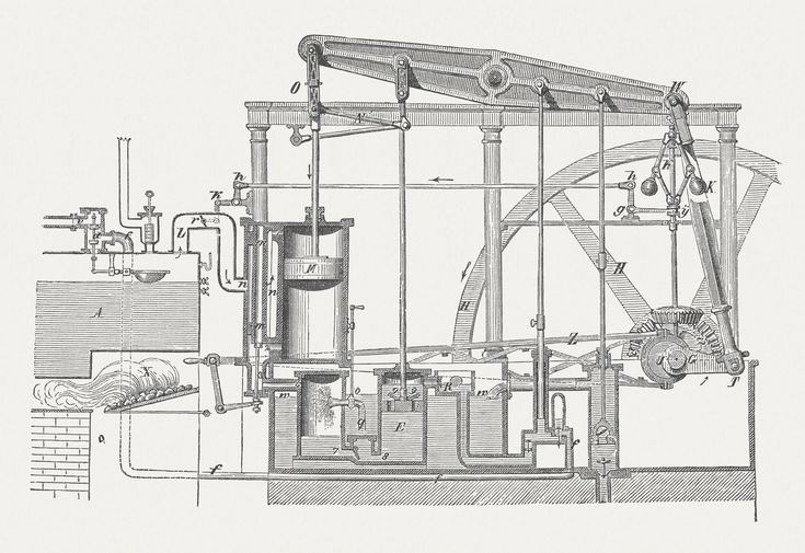 A Visual History of the Industrial Revolution: 1769 - James Watt's Improved Steam Engine Powers the Industrial Revolution