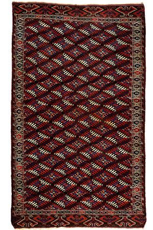 Yomud Turkoman Circa 1890  3.50 x 2.02 m