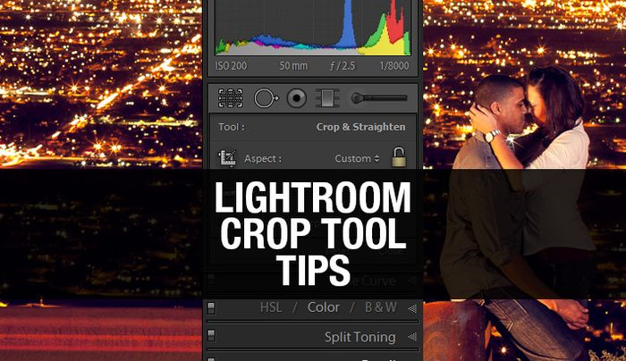 Lightroom crop shortcut