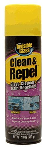 Invisible Glass 91184 Premium Glass Cleaner with Rain Repellent, 19 fl. oz, 1 Pack. For product info go to:  https://www.caraccessoriesonlinemarket.com/invisible-glass-91184-premium-glass-cleaner-with-rain-repellent-19-fl-oz-1-pack/