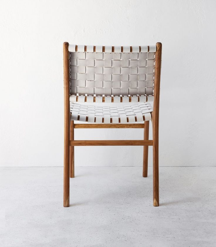 Image result for leather dining chair white