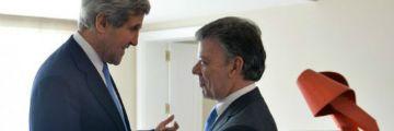 Kerry destaca en Bogotá compromiso de EE.UU. con la paz en Colombia