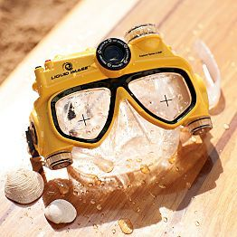 underwater video camera mask AWESOME!!