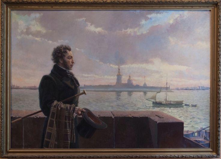 открытый картинки пушкина в питере продать