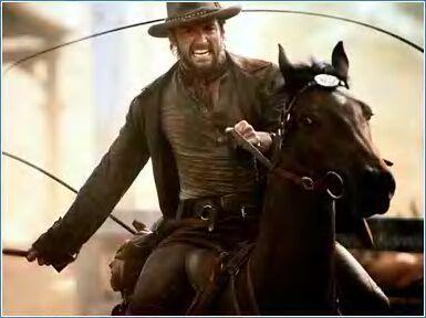 Hugh Jackman as Drover