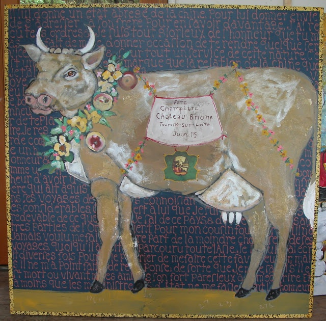 Ira YeagerClaire, Marydon Definition, French Tangerine, Colors, Art, Fabulous Piece, Linda St, French Cows, Beautiful Done And
