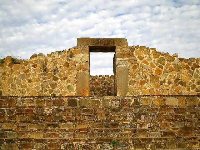 Aztec doorway architecture pinterest photos and aztec - The rammed earth hacienda ...