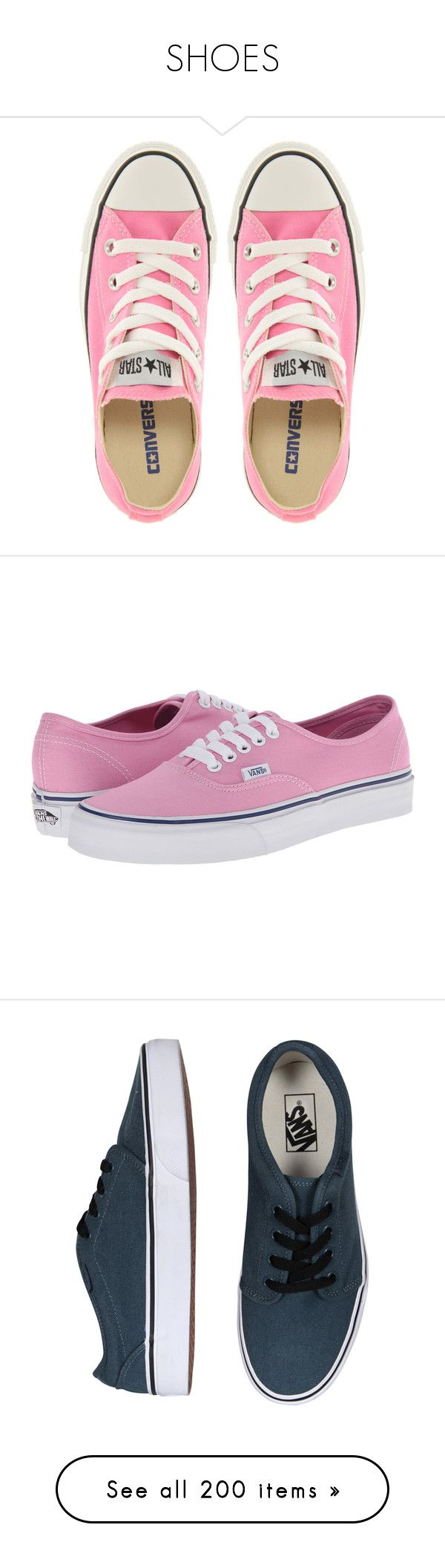 """""""SHOES"""" by clauditaam ❤ liked on Polyvore featuring shoes, sneakers, converse, zapatos, converse sneakers, high top canvas sneakers, lace up sneakers, laced up shoes, star sneakers and pink"""