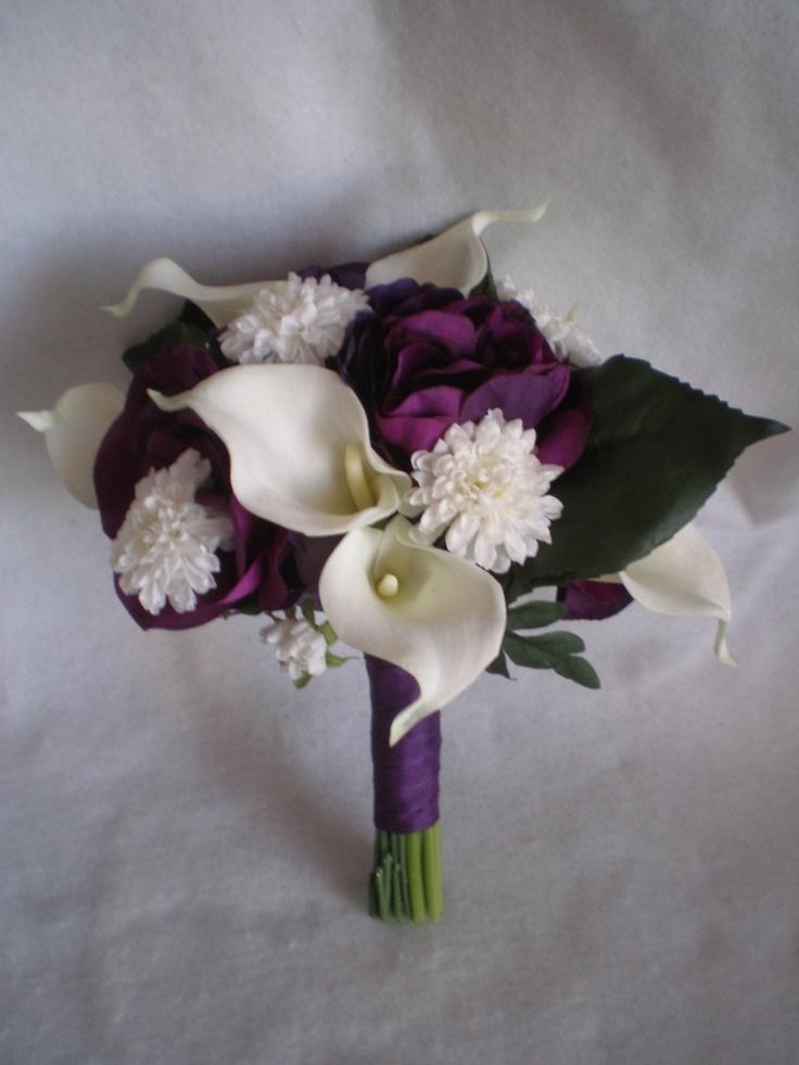 calla lily bouquet Wedding Ideas Pinterest