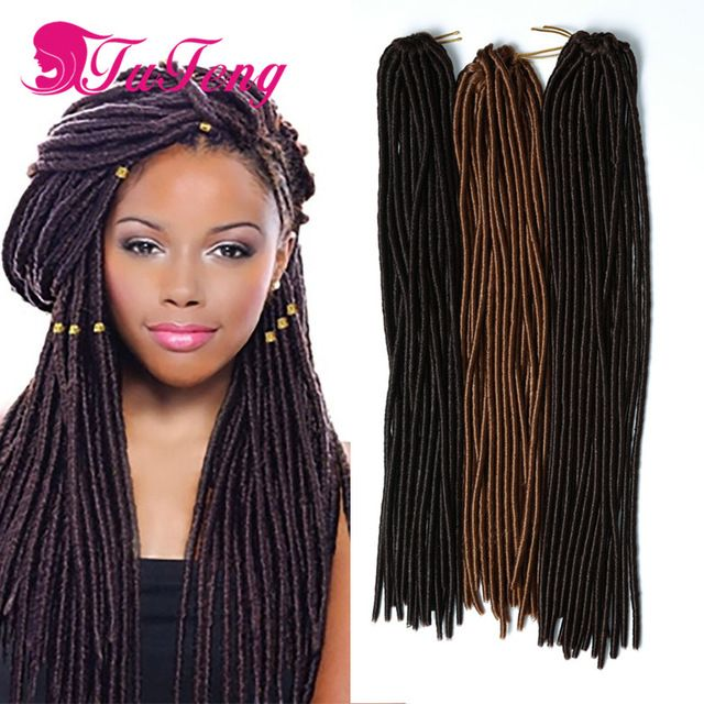 93 best 18 inch faux locs hair images on pinterest goddesses faux locs crochet braids18 inch soft dreadlock crochet hair extensions curly cheap kinky twist 24 roots pmusecretfo Image collections