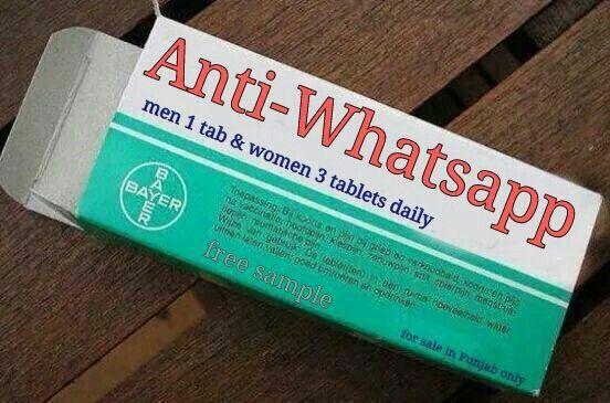 Anti whatsapp
