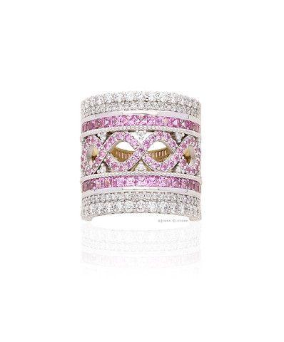 Paloma Pink Sapphire Dress Ring