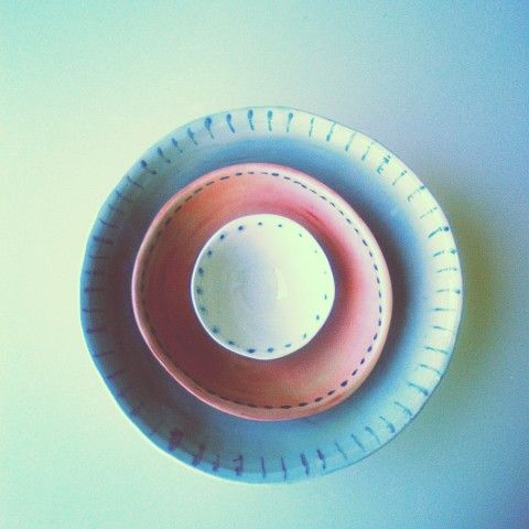 Bowls and plates. Spring/summer 2014