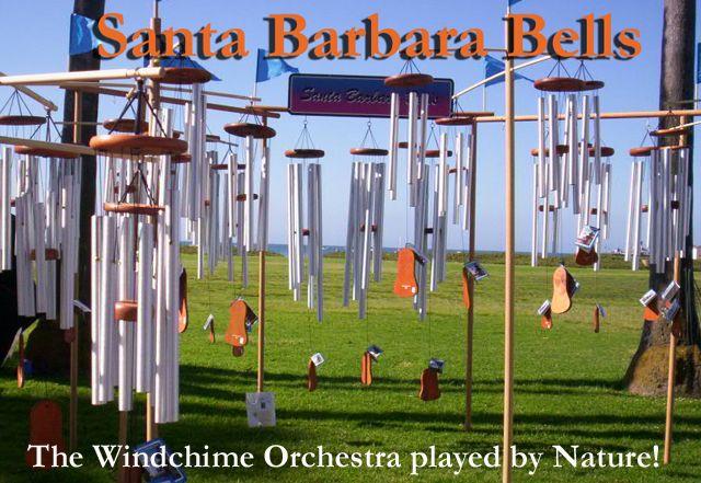 Love the sound of wind chimesSanta Barbara, Usa Finding, Windchimes, Barbara Belle