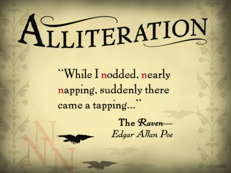 10 Best Alliteration Images On Pinterest Alliteration Beds And