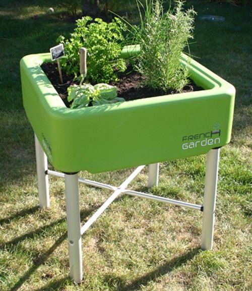 french garden hochbeet classic grün french garden | outdoor, Garten und bauen