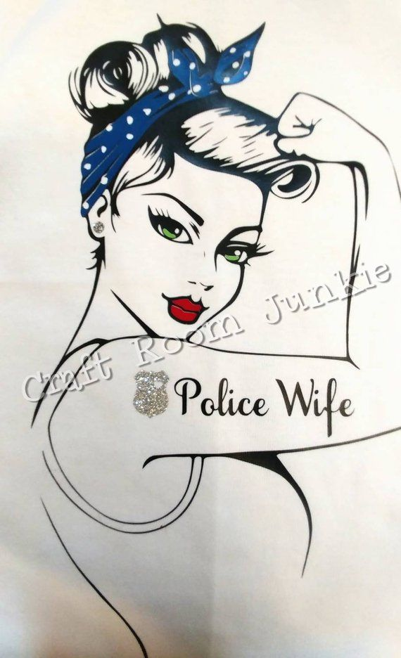 Police Wife Customize With Images Police Wife Police Police