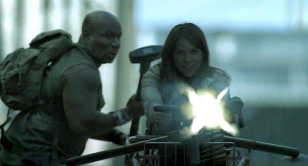 """Zombie Apocalypse"" (2011) Ving Rhames e Lesley-Ann Brandt #TheAsylum #Syfy #Zombie #ZombieApocalypse #MinervaPictures #VingRhames #LesleyAnnBrandt"