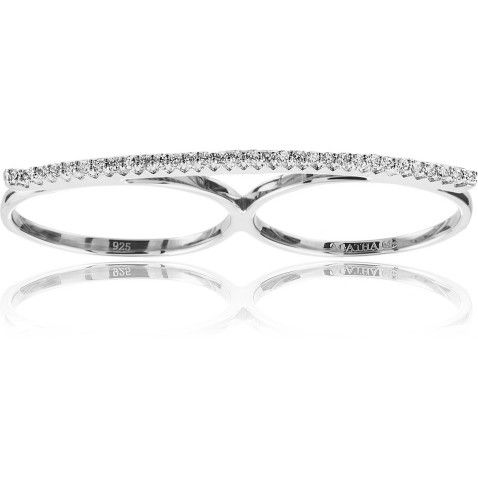 PRECIOUS. Double ring - 2220182-136-TU