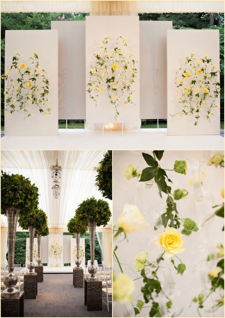 Head table backdrop for a summer wedding, Boston Wedding Photographers Blog Person + Killian