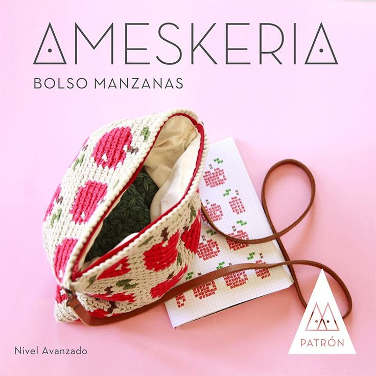 PATRÓN PDF - Bolsa de manzanas via ameskeria. Click on the image to see more!