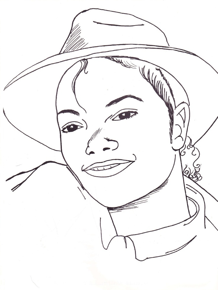 Page 4 Michael Jackson Coloring Book Pinterest Michael Jackson Coloring Pages