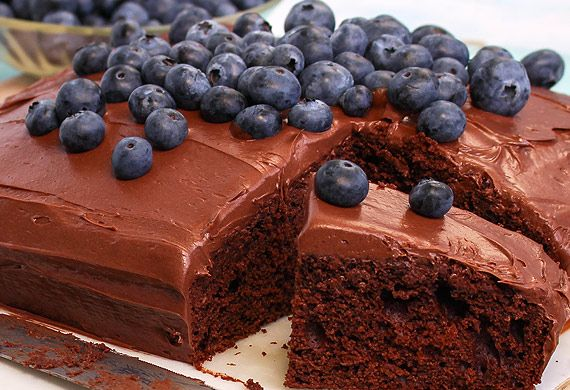 Woolworths' quick mix chocolate cake