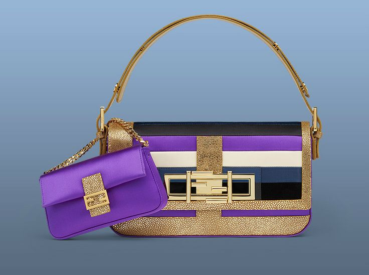 Sarah Jessica Parker has personalized  special Fendi 3Baguette and Micro Baguette bags for the 3Baguette charity project.