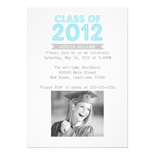 15 best images about Graduation Invitation Templates 2012 ...
