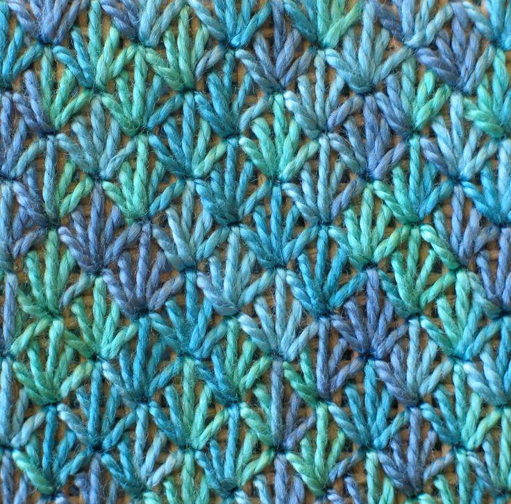 needlepoint stitches guide   Diamond ray Stitch - How to Work the Diamond Ray Stitch