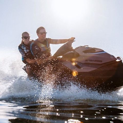#MondayMotivation: The sun, the waves, the water.    . . .  #SeaDoo #jetski #waverunner #summer #lake #summerfun #colorado #rpmms #lakewoodco #littletonco #motorsports #onethelake #watercraft #funinthesun #summertime