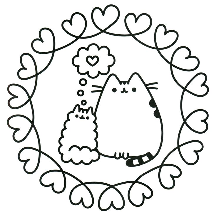 94 best images about Pusheen Coloring
