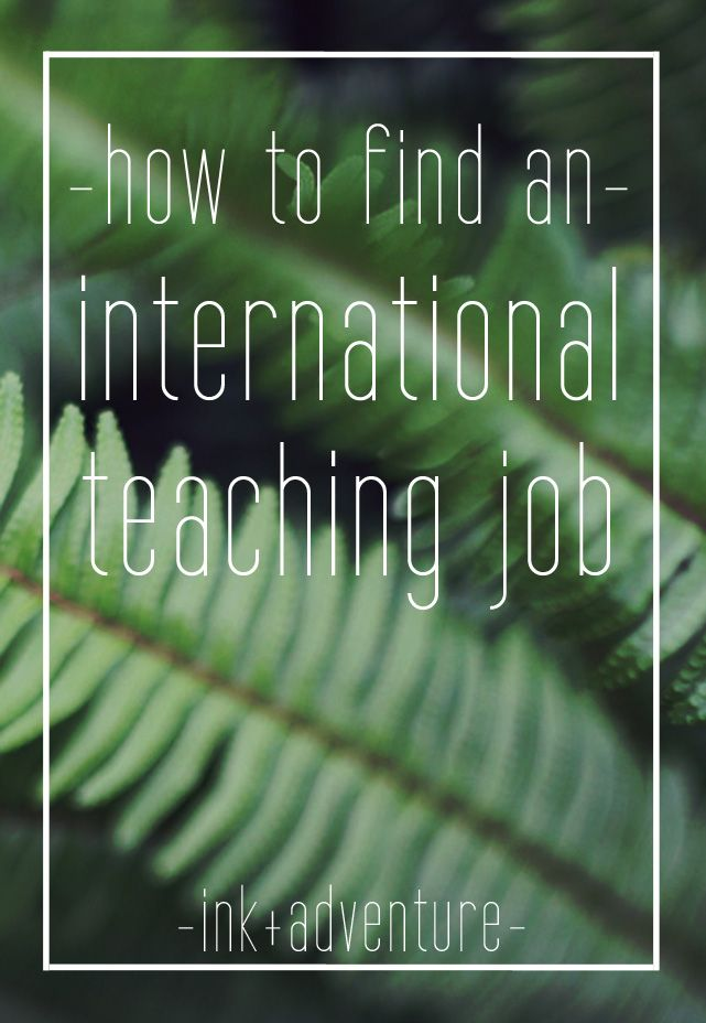 our personal experience and some advice on searching for an international teaching position by using a job fair