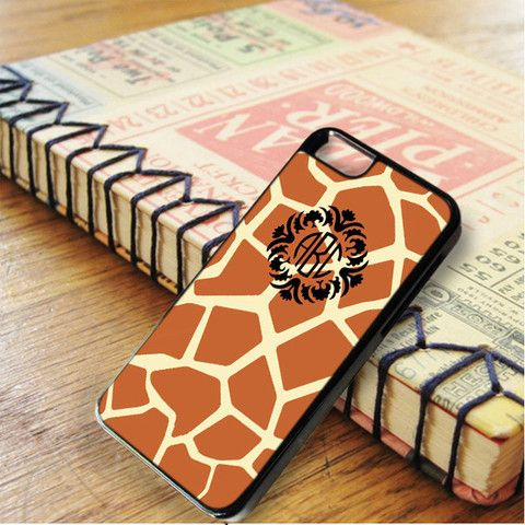 Giraffe Pattern Monogram iPhone 6|iPhone 6S Case