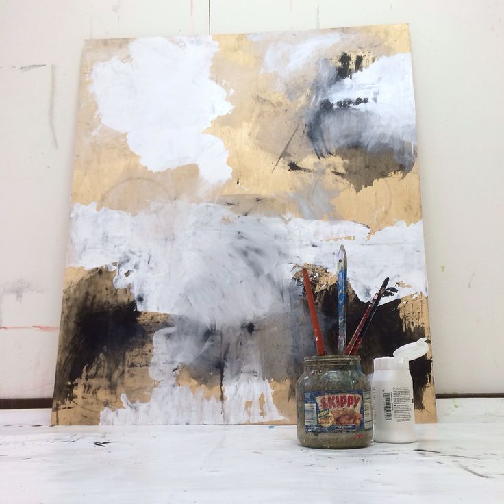 Beginning of a new year, in my studio yesterday