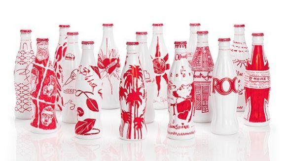Fashion designers contribute to the iconic coke bottle design