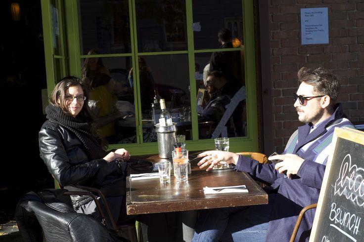 Con Babara en Williamsburg - NYC 2014