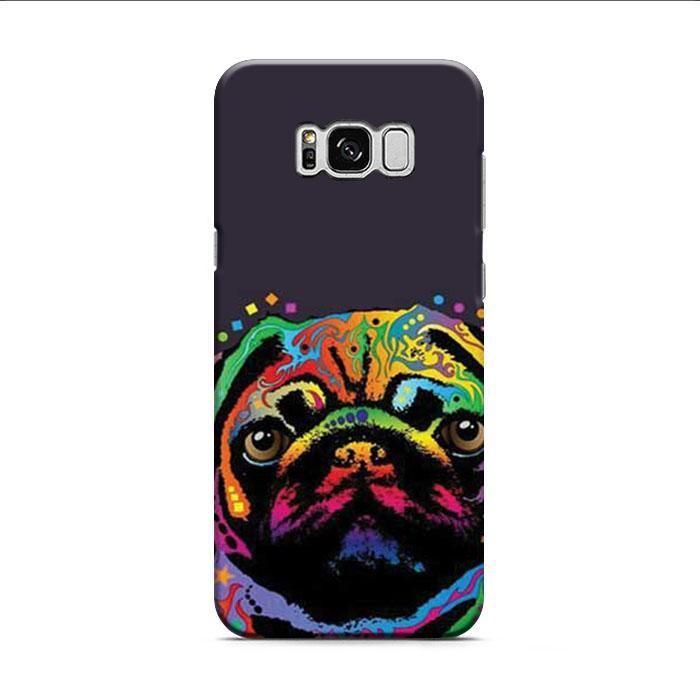 Pug Pop Art 2 Samsung Galaxy S8 Plus 3D Case