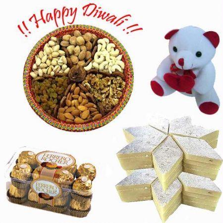 The festival of Diwali mesmerizes everyone with its charm and charisma. Rediff Shopping has brought loads of exciting Diwali gifts and gift hampers that you can send to your loved ones in India. Get assured delivery with Free Shipping and COD options.