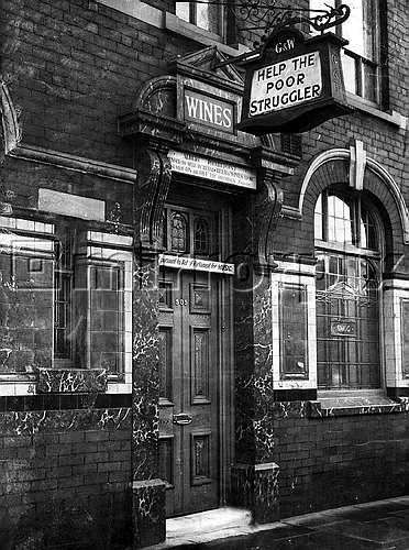 "Albert Pierrepoint ran the ""Help the poor struggler"" pub in Oldham. He was Britain's last executioner and was responsible for the deaths of over 450 people including over 200 Nazi war criminals and a number of notorious killers including John Christie and John George Haigh. He also executed Derek Bentley and Ruth Ellis."