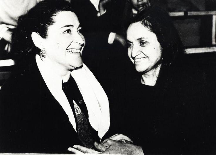 Margot Loyola and Violeta Parra