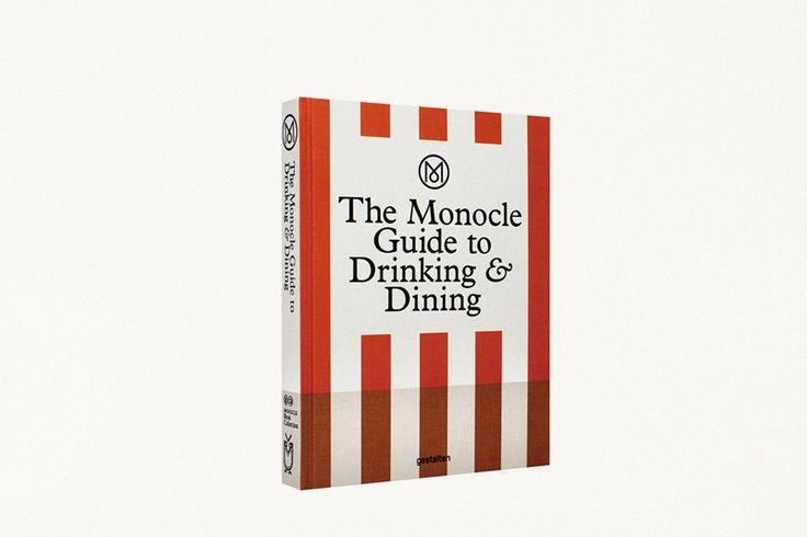 The Monocle Guide to Drinking & Dining - Ein Buch für Gourmet. Ein schönes Hochzeitsgeschenk!