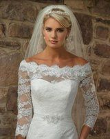 Cathy Ireland lace wedding dress - 1