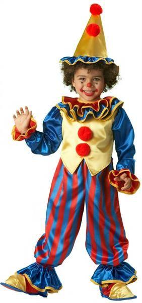 Новогодние костюмы для детей клоун