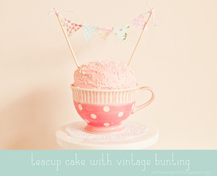 a little delightful: chloe's 2nd birthday :: tea party for two