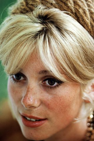 I was just told recently that I look like young Catherine Deneuve!  So flattering!!