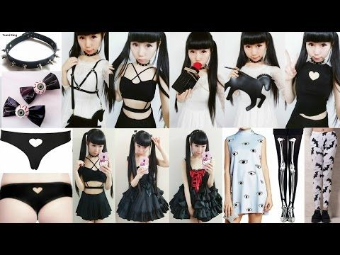 """How to Look Like a """"Bad&Creepy Girl""""   Over 10 Gothic Inspired Creative Fashion Designs - YouTube"""