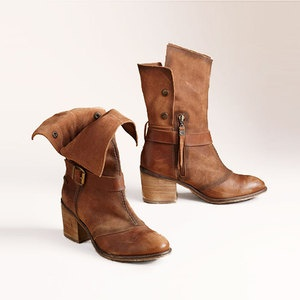 Accelot Bootie Chestnut, $165, now featured on Fab.