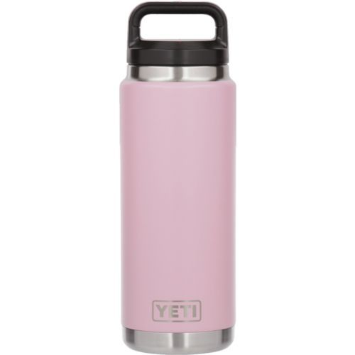 Yeti Rambler 26 oz Bottle Pink - Thermos Cups And Koozies at Academy Sports
