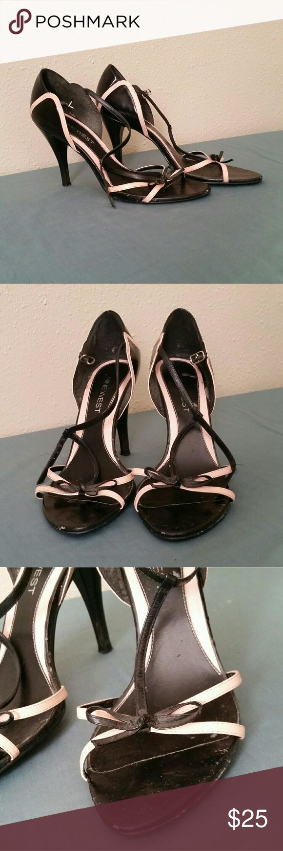 Selling this Nine West heels w/ bow detail on Poshmark! My username is: locochanel. #shopmycloset #poshmark #fashion #shopping #style #forsale #Nine West #Shoes